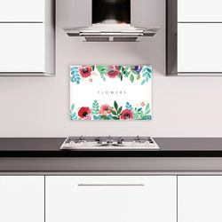 감성 디자인보드 FLOWERS (80X50cm)