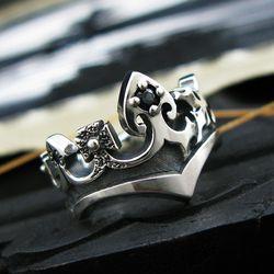 Lunar Crown Ring