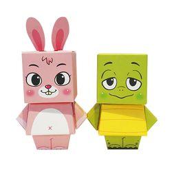 미니스타일 페이퍼토이 - 전래동화 시리즈3 토끼와 거북이