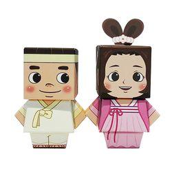 미니스타일 페이퍼토이 - 전래동화 시리즈4 선녀와 나무꾼