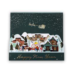 크리스마스 빌리지 팝업카드 (045-CM-0005)