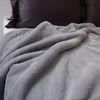 소프트 fur 블랭킷 gray- 140x180cm
