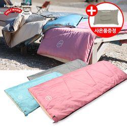 파스텔 침낭(기본형)-감성 캠핑 사계절 디자인침낭