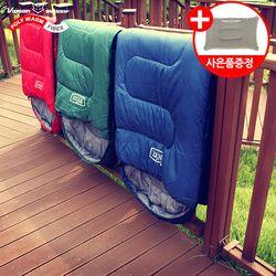 레아침낭(머미형)-폴리웜화이버 사계절 캠핑 침낭
