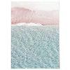 패브릭 천 포스터 F034 바다 풍경 액자 파도 [중형]