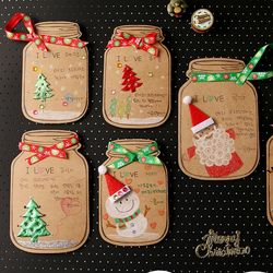 성탄메세지보틀만들기(10인용)-크리스마스카드만들기