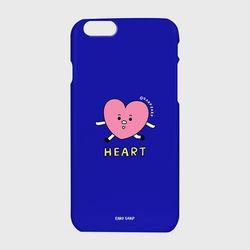 [하드케이스] Heart character-blue