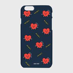 [하드케이스] Pattern heart-navy