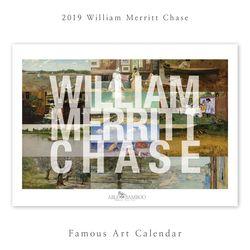 [2019 명화 캘린더] William Merritt Chase 윌리엄 체이스