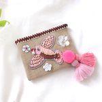 bird pouch-pink