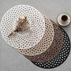 로뎀 원형 테이블(식탁) 개인매트 - 4color