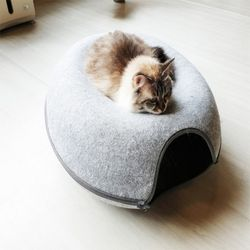 고양이 숨숨집 동굴하우스