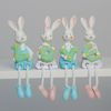 (kcrz003) 러브 토끼 인형장식 4p (그린)