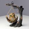(kcrz010)나무그네 솔로부엉이 장식