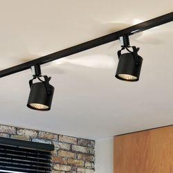뉴 원통 스포트 1등 레일형 (LED겸용카페조명포인트조명)