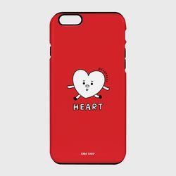 [터프케이스] Heart character-red