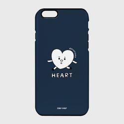 [터프케이스] Heart character-navy
