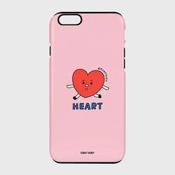 [터프케이스] Heart character-pink