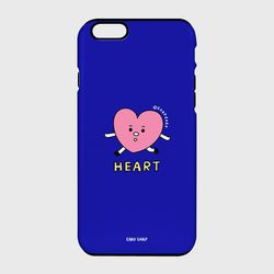 [터프케이스] Heart character-blue