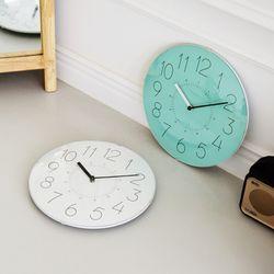 유리 돔 무소음벽시계 인테리어 벽시계 8종