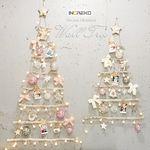 네츄럴 우드 50P 벽트리 풀세트 크리스마스 트리