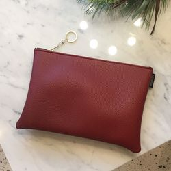 Moment Red Clutch