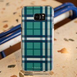[ZenithCraft] LG G4 그린체크 실리콘젤리 케이스