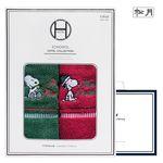 스누피 아폴로 크리스마스 2매 선물세트+쇼핑백 답례품