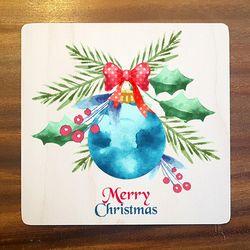 엠투씨-특별한 크리스마스카드 우드카드