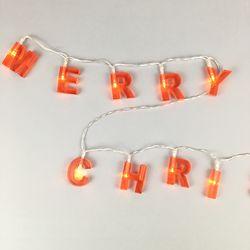 메리크리스마스 LED 스트링