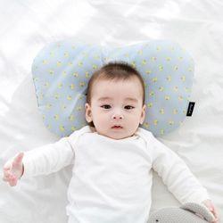 코니테일 아기 짱구베개 - 블루체리(유아 신생아베개)