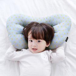 코니테일 아기 경추베개 - 블루체리(어린이 유아베개)