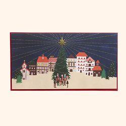 [일러스트 크리스마스카드] 03 마을을 밝히는 별