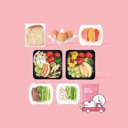 덴마크 식단 7일 배달 프로그램