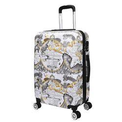 쌈지 A2-1340 세계지도 20인치 듀얼휠 캐리어 여행가방