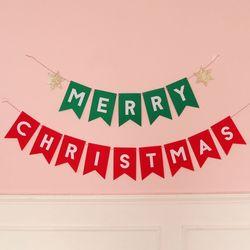 즐거운 크리스마스 가랜드