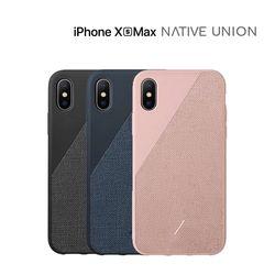 [NATIVE UNION] 아이폰 XS MAX 클릭 캔버스 케이스