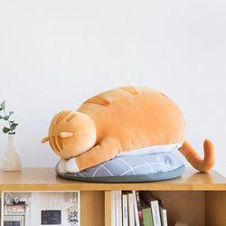 고멘네코 모찌 식빵뚱냥 눈가리고 야옹 - 치즈 고양이 인형