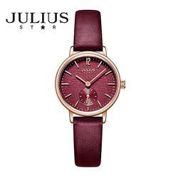 쥴리어스스타 JS011 여성 패션 가죽밴드 손목시계