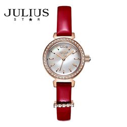 쥴리어스스타 JS012 여성 패션 가죽밴드 손목시계