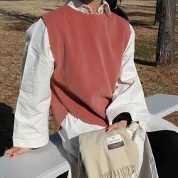 Wool modern vest(울10)