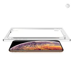 위시비 토리 바디글라스 아이폰XS MAX XR 강화유리 장착툴 포함