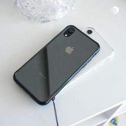위시비 토리 아이폰XS MAX XR 슬림 강화유리 케이스