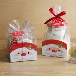 B10 산타받침 2개  크리스마스 성탄 선물포장
