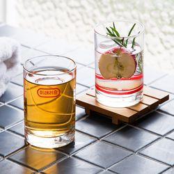이태리숍 유리컵 2종+코스터 세트
