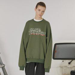Fast and finish sweatshirt -khaki