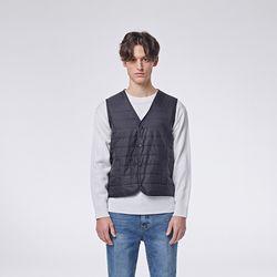 Basic padding vest (Black)