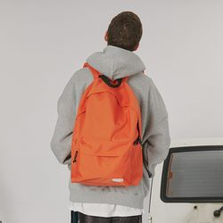 Rubber logo packpack -orange