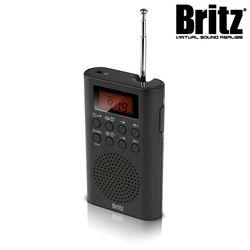 브리츠 휴대용 라디오 알람 시계 BZ-R3740