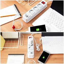 부엉이클릭탭 USB 3구 1.5m